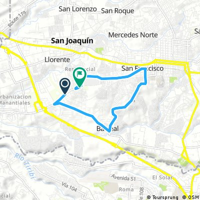Brief bike tour through Ulloa