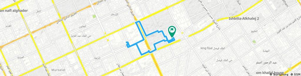 bike tour through Al Quds
