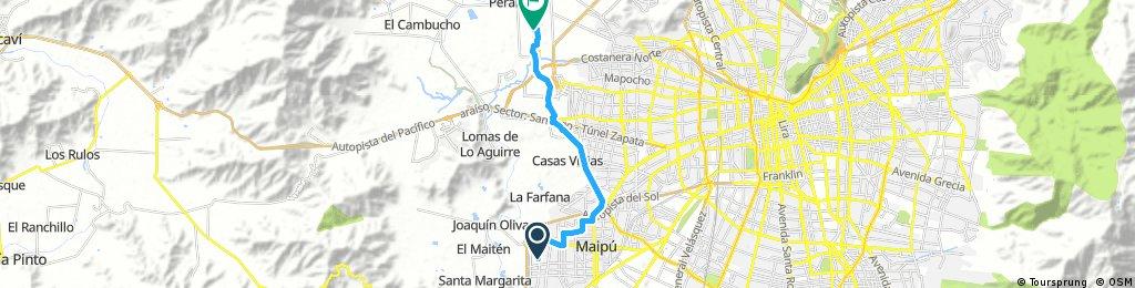 bike tour through Pudahuel