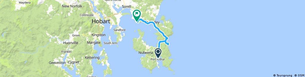 Day 13 - Port Arthur to Primrose Sands