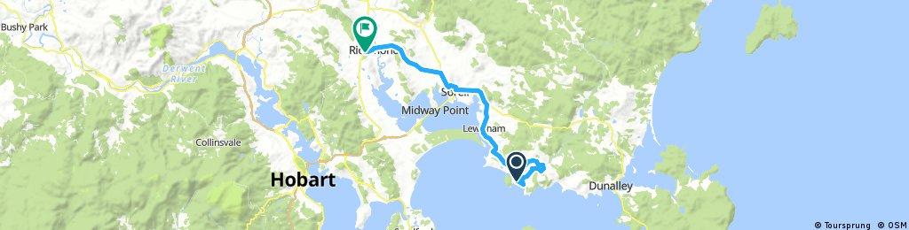 Day 14 - Primrose Sands to Richmond