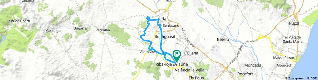 Ribarroja - Refugio - Villamarchante