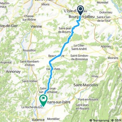 Chateauneuf sur Isère