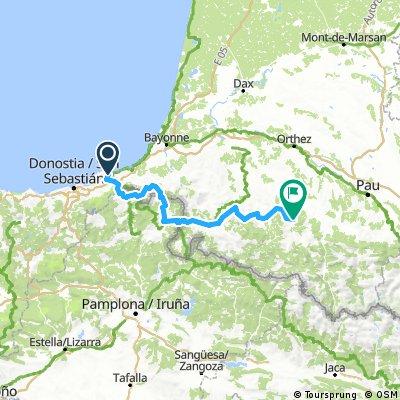 Pyrenees #1 Hondarribia - Barcus