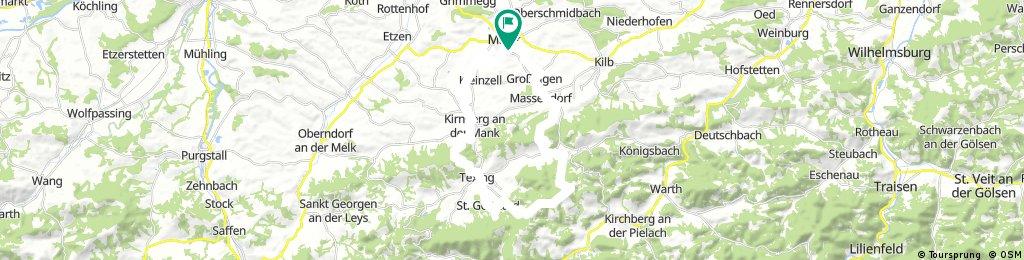 Luft und Texinger Berg