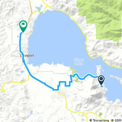 house to safeway, lakeport