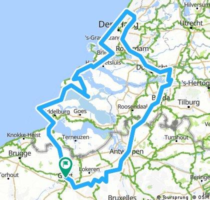 Zeeland - Zuid-Holland - Schelde