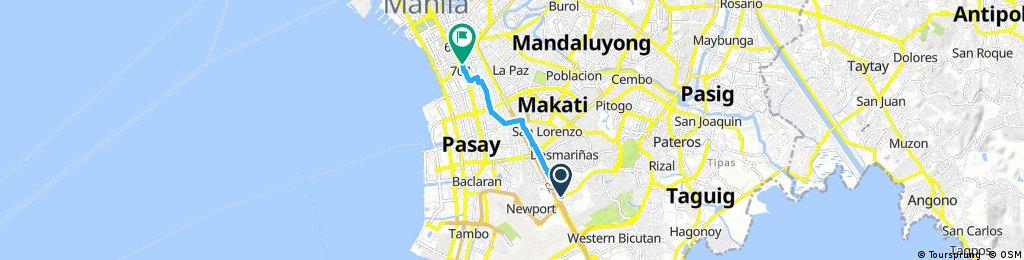 Quick ride through Malate