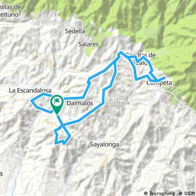 I Ruta villa de Arenas GERT