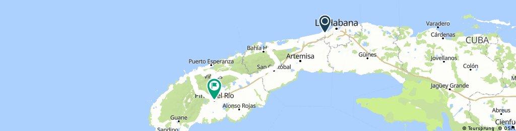Cuba, nordvest