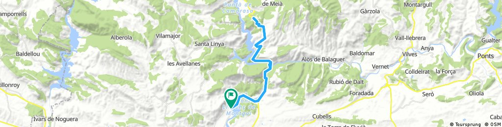 Alt de la Fontllonga des de Sant Llorenç de Montgai