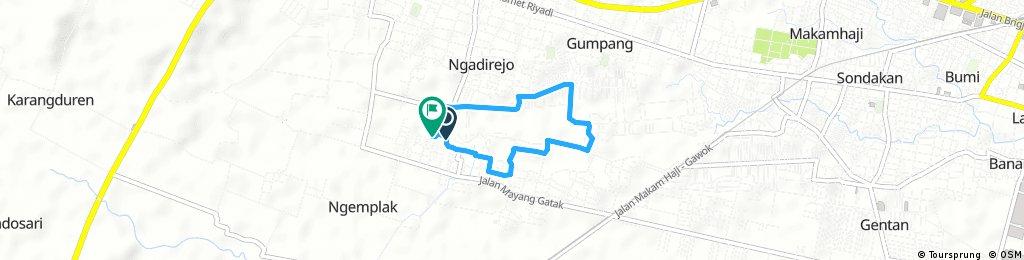 Quick bike tour through Gumpang