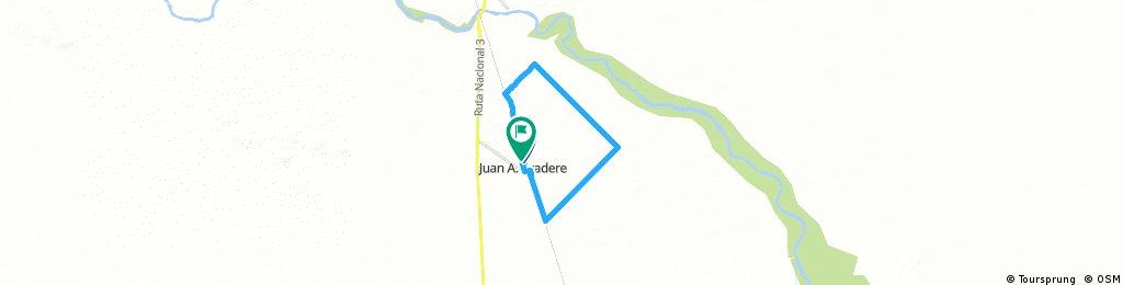 JUAN A. PRADERE--26 KM.