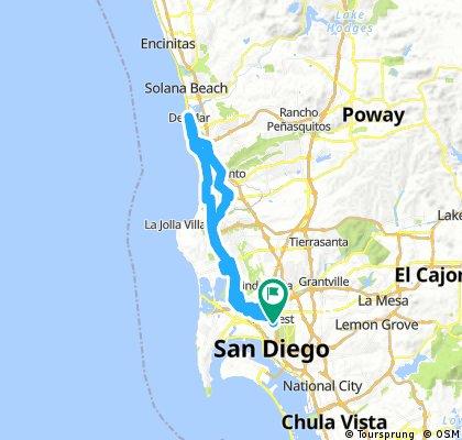 Lengthy ride through San Diego