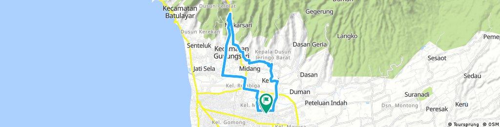 GPM BIKE COMMUNITY tour through Cakranegara Utara
