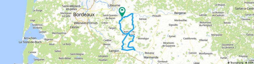 Saint-Emilion 120km