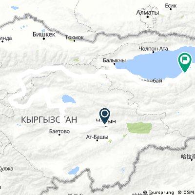 Kirgistan 2.1 80 rowerow