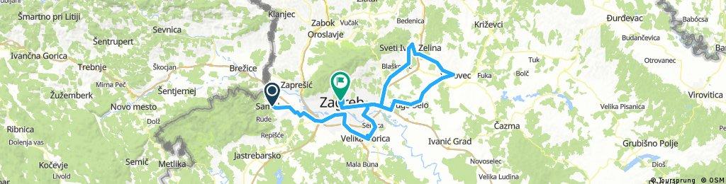 6th stage TOC 2018 Samobor - Zagreb (22.04.2018.)