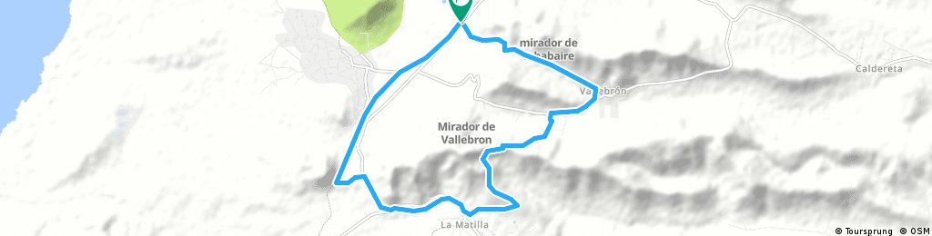 tindaya, vallebron la matilla and back