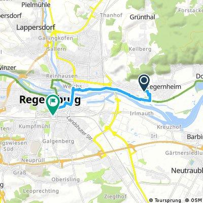 10. Tag Tegerheim nach Regensburg HBF