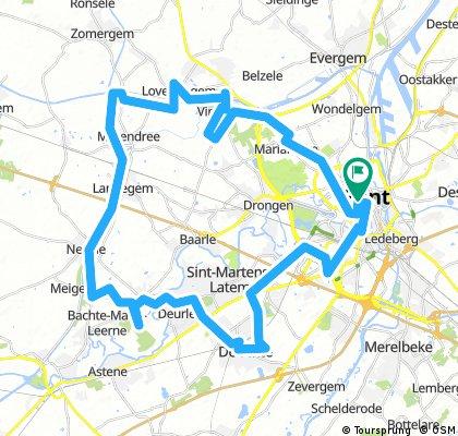 Radtour Gent
