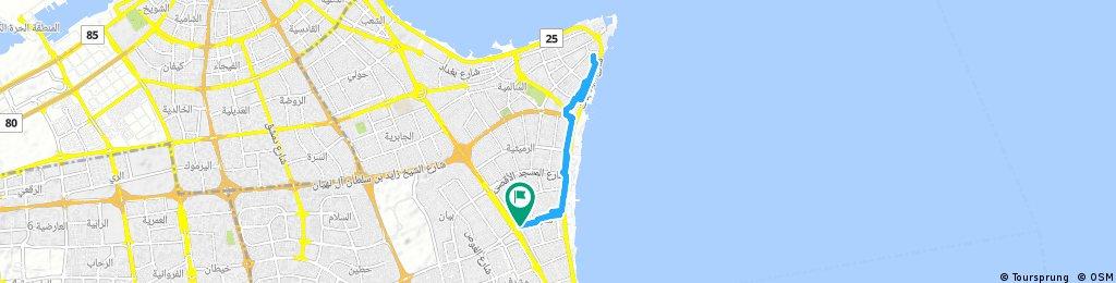 bike tour through Mishrif