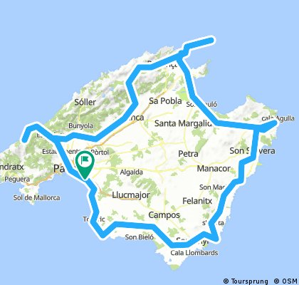 Mallorca Rundfahrt