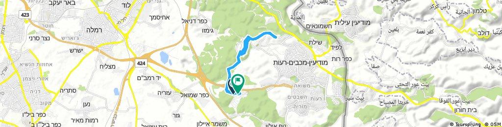 bike tour through Modiin-Maccabim-Reut