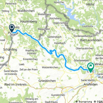 Passau - Ruzsa - Tour 2017 - Tag 1_1