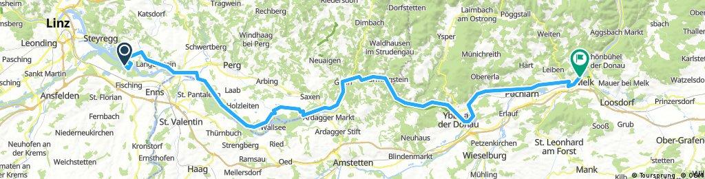 Passau - Ruzsa - Tour 2017 - Tag 3