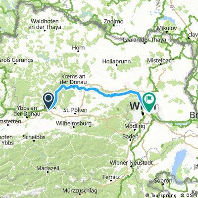 Passau - Ruzsa - Tour 2017 - Tag 4