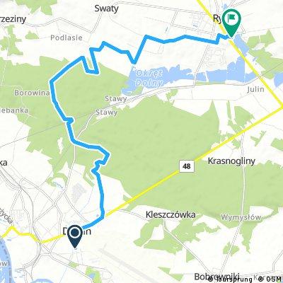 bike tour through Ryki2