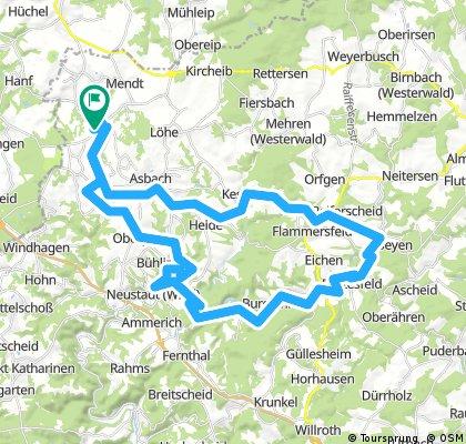 Lange Radrunde durch Buchholz