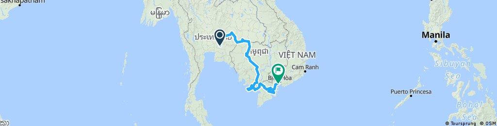 Plan Bangkok Saigon