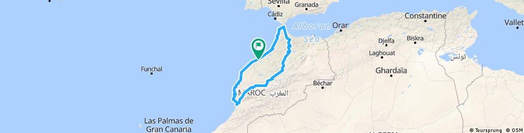 Route 2 Maroc