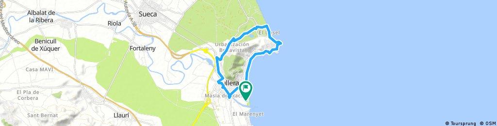 Rund um Mount Sant Antoni durch den Cami del primer Collado