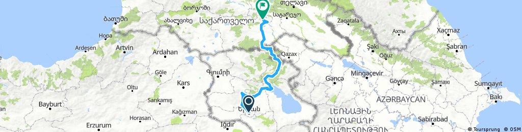 Aragats - Szeván-tó - Tbiliszi