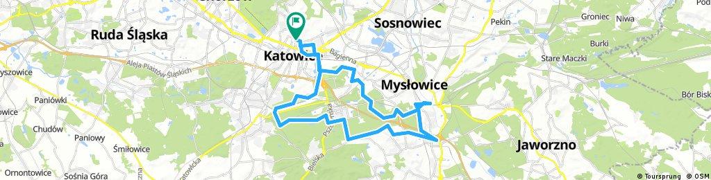 Katowice - Mysłowice Słupna
