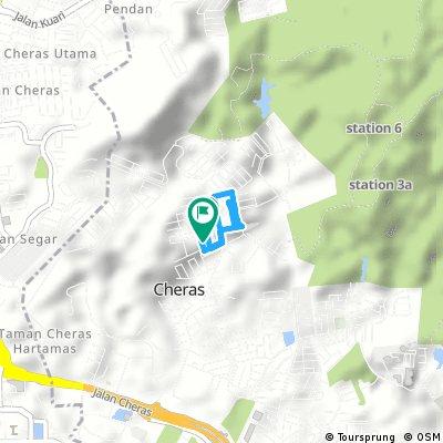 Brief ride through Cheras