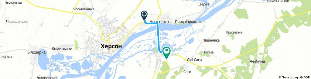bike tour through Oleshky1