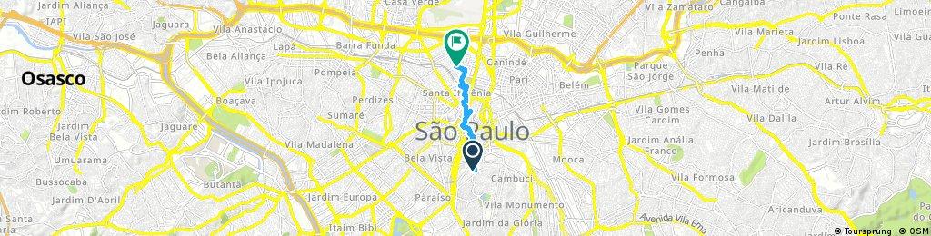 Quick ride through São Paulo