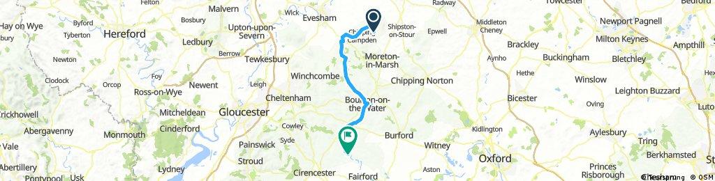 Cotswold 3, Ebrington to Bibury