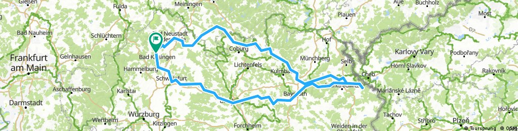 Bad Bocklet - Waldsassen