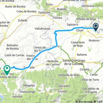 Haro to Villafranca stage 5