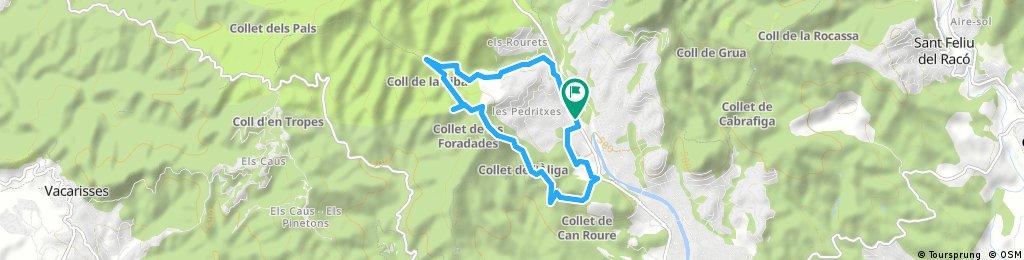 Caminada per la Marató - CDTH Serra de les Pedritxes - La foradada