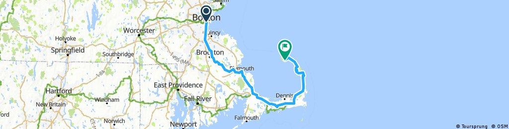 Boston to Provincetown