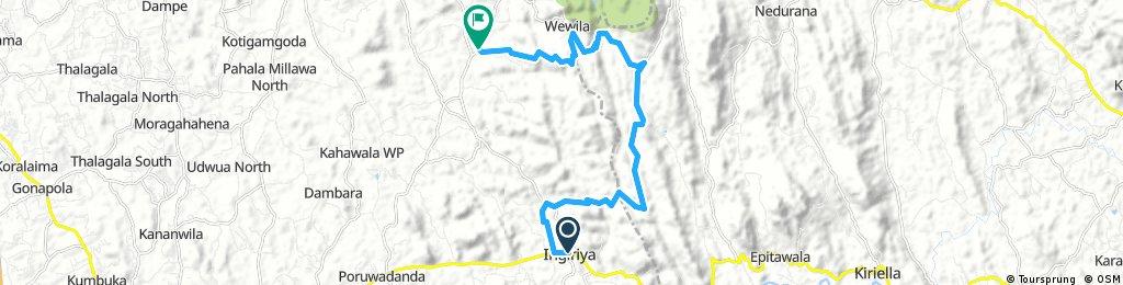 Ingiriya to Wewila