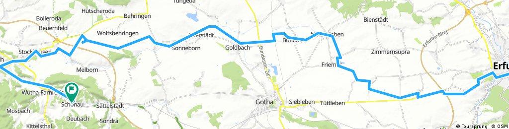 Erfurt - Eisenach