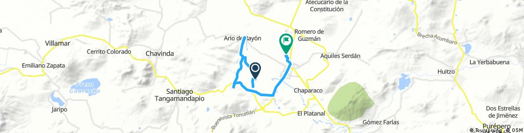 circuito Zamora - El Zapote