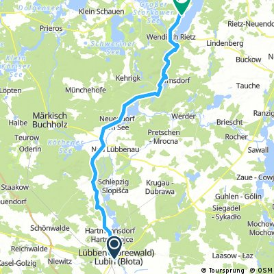 Lübben - Bad Saarow (A-Rosa)